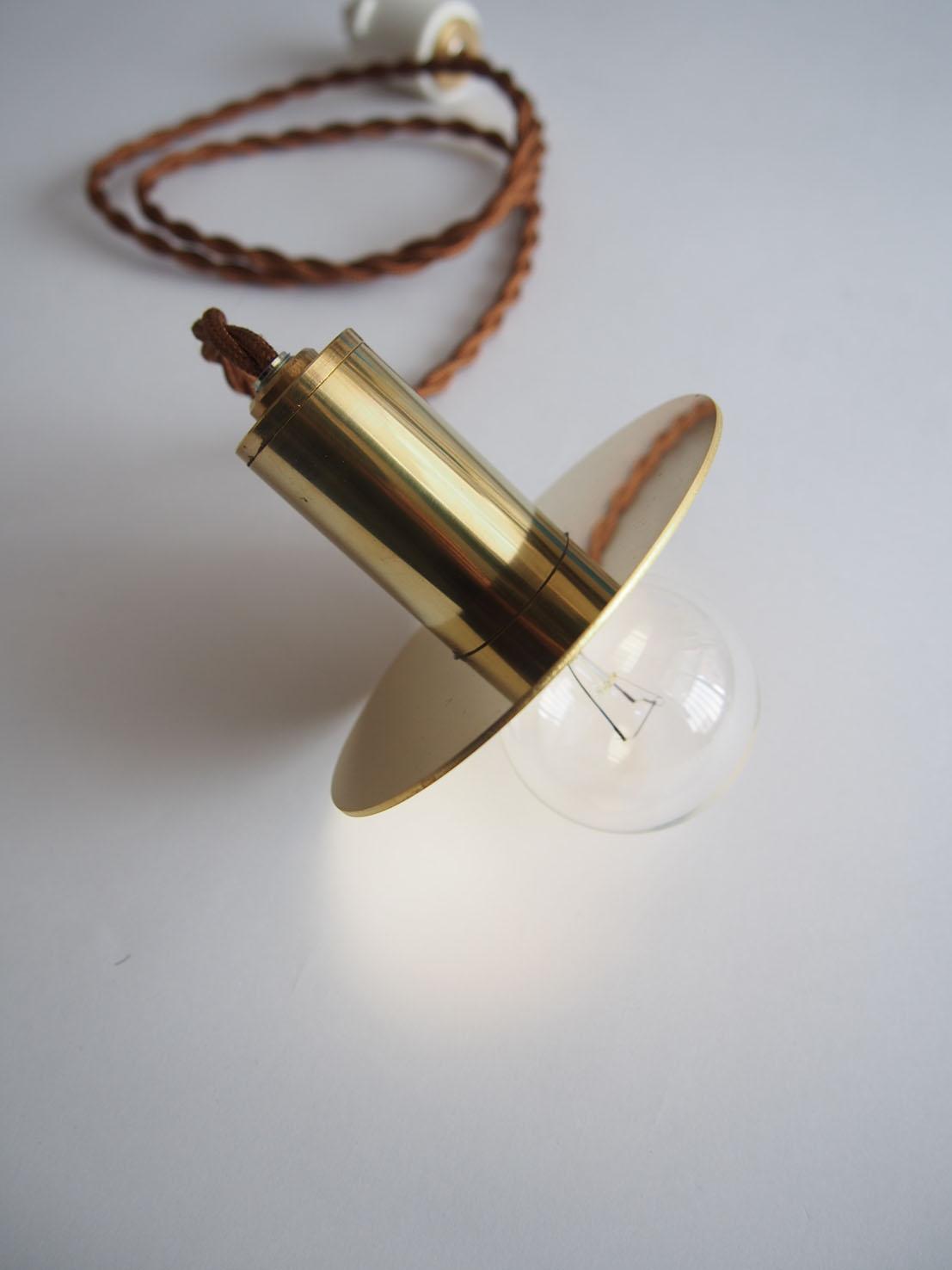 店舗デザイン MassimoGariani 作家story#作家の器のある暮らし本山店 ペンダントライト 真鍮